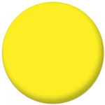 Plain Yellow 58mm Fridge Magnet